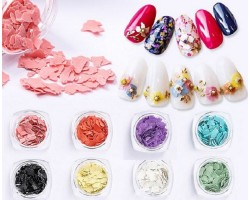 Цветни 3D люспи