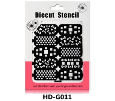 Лепенки за прецизно нанасяне на лак HD011