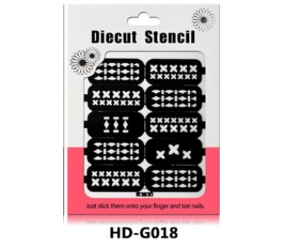Лепенки за прецизно нанасяне на лак HD18