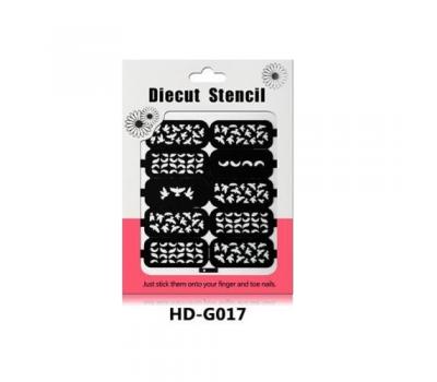 Лепенки за прецизно нанасяне на лак HD017