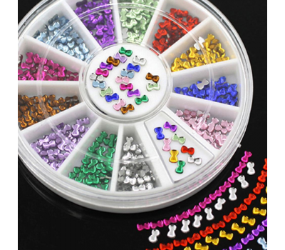 Декорация палитра Модел цветни панделки