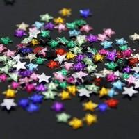 Декорация палитра Модел цветни звездички