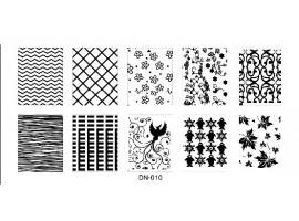 Печат - щампа  пластина за нокти DN10
