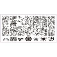 Печат - щампа  пластина за нокти 15
