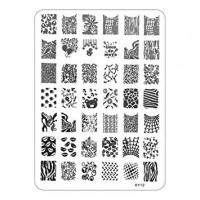 Печат - щампа мрежа пластина - XY12