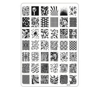 Печат - щампа мрежа пластина - XY13