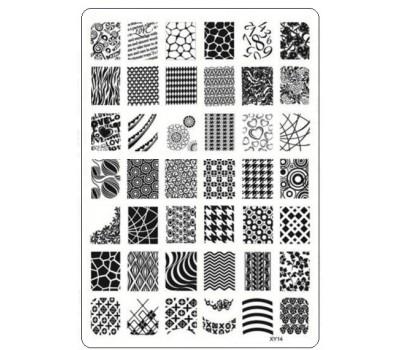Печат - щампа мрежа пластина - XY14