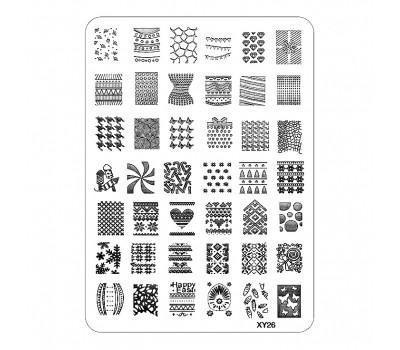 Печат - щампа  мрежа пластина -  XY26