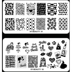 Пластина за печат XY Beauty - изберете модел
