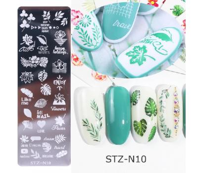 Пластина за печат STZ - изберете модел