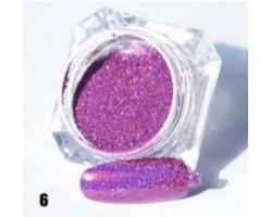Лилава пудра пигмент с холограмен ефект
