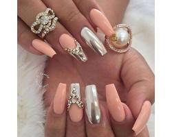 Метален - огледален пигмент за нокти