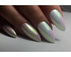 Огледален пигмент за нокти Русалка