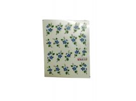Ваденки за нокти Сини цветя BLE 1520