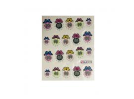 Ваденки за нокти Пеперуди BLE 1076
