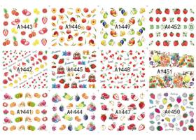 12бр ваденки плодчета А1443