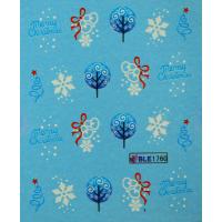 Коледни ваденки за нокти  1760