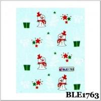 Коледни ваденки за нокти  1763