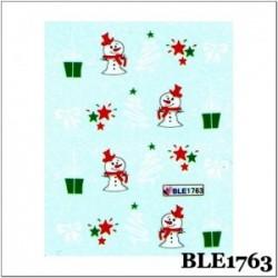 Коледни ваденки за нокти BLE 1763