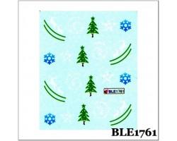 Коледни ваденки за нокти  1761