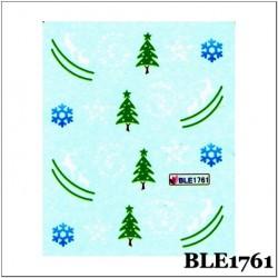 Коледни ваденки за нокти BLE 1761
