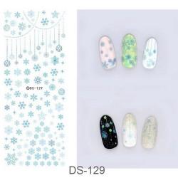 Коледни ваденки за нокти DS-129