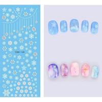 Коледни ваденки за нокти DS-130