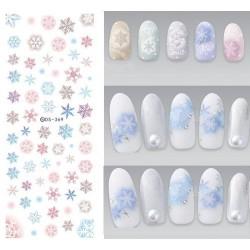 Коледни ваденки за нокти DS-369