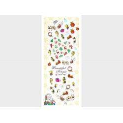 Коледни ваденки за нокти HOT-195