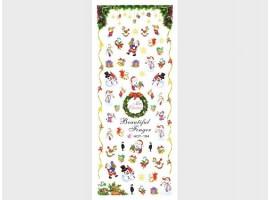 Коледни ваденки за нокти HOT-194