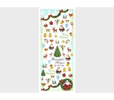 Коледни ваденки за нокти HOT-198