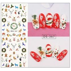 Коледни ваденки за нокти DS-367