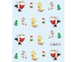 Коледни ваденки за нокти 111