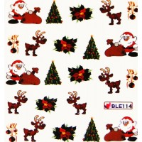 Коледни ваденки за нокти  114