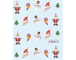 Коледни ваденки за нокти 117
