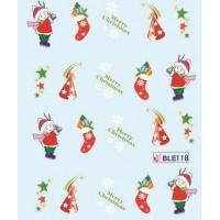 Коледни ваденки за нокти 118