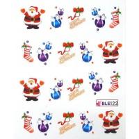 Коледни ваденки за нокти 122