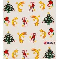 Коледни ваденки за нокти 123