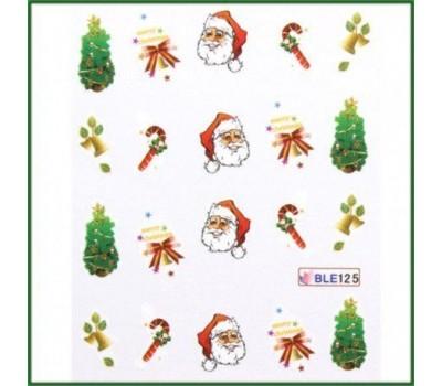 Коледни ваденки за нокти 125