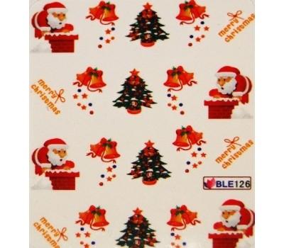 Коледни ваденки за нокти 126