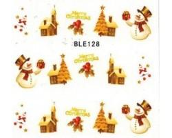 Коледни ваденки за нокти 128
