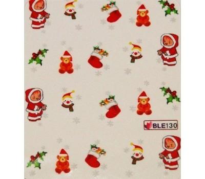 Коледни ваденки за нокти 130