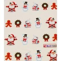 Коледни ваденки за нокти 1583