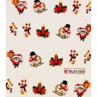 Коледни ваденки за нокти 1585