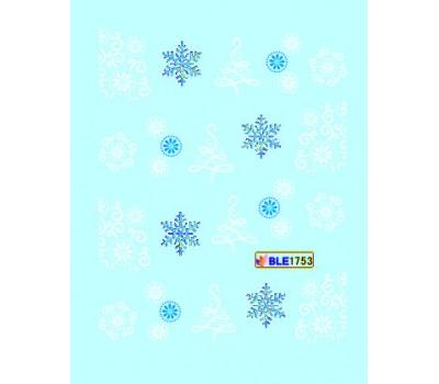 Коледни ваденки за нокти 1753