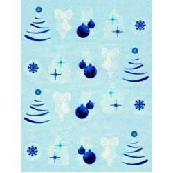 Коледни ваденки за нокти BLE 1754