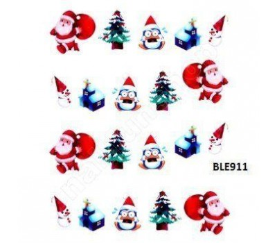 Коледни ваденки за нокти 911