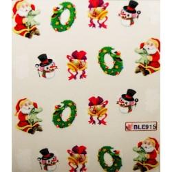 Коледни ваденки за нокти 915