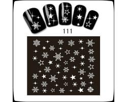 Коледни ваденки за нокти  S111