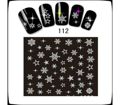 Коледни ваденки за нокти  S112